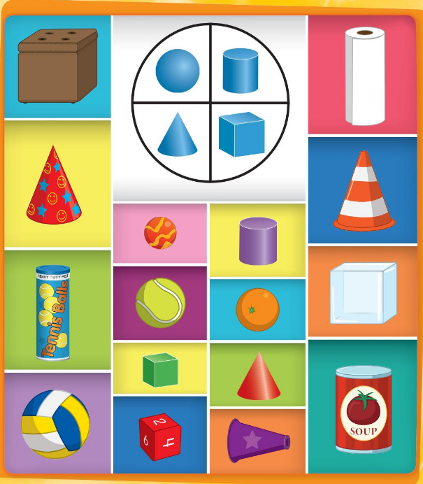 Big Ideas Math Answer Key Grade K Chapter 12 Identify Three-Dimensional Shapes 2