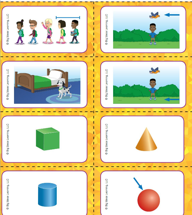 Big Ideas Math Answer Key Grade K Chapter 12 Identify Three-Dimensional Shapes v 4