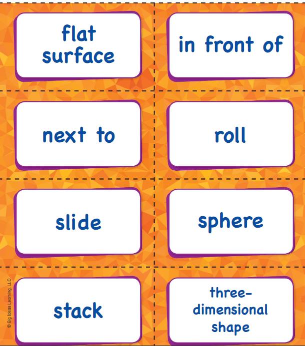 Big Ideas Math Answer Key Grade K Chapter 12 Identify Three-Dimensional Shapes v 6