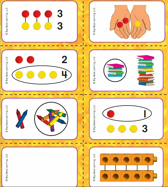 Big Ideas Math Answer Key Grade K Chapter 2 Compare Numbers 0 to 5 4