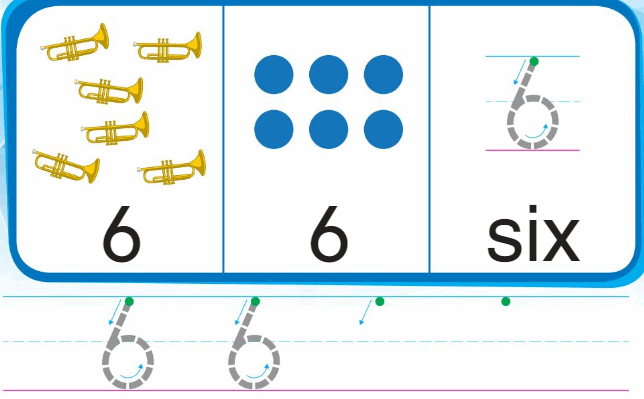 Big Ideas Math Answer Key Grade K Chapter 3 Count and Write Numbers 6 to 10 18