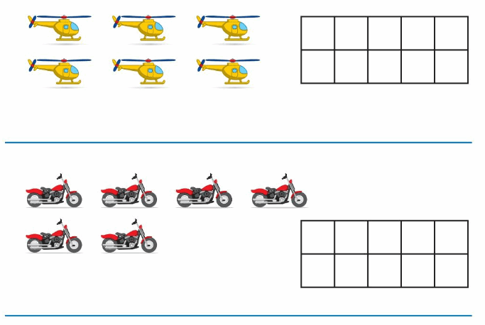 Big Ideas Math Answer Key Grade K Chapter 3 Count and Write Numbers 6 to 10 6