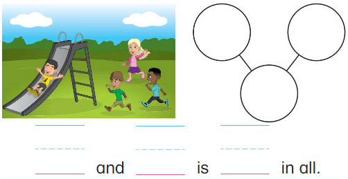 Big Ideas Math Answer Key Grade K Chapter 6 Add Numbers within 10 6.1 2