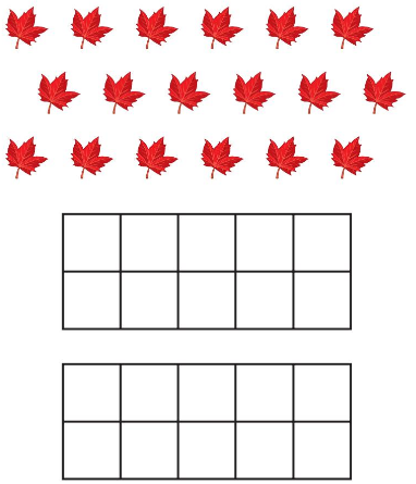 Big Ideas Math Answer Key Grade K Chapter 8 Represent Numbers 11 to 19 8.10 1