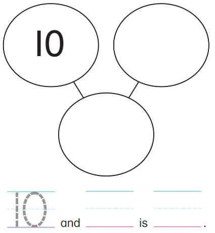 Big Ideas Math Answer Key Grade K Chapter 8 Represent Numbers 11 to 19 8.7 1