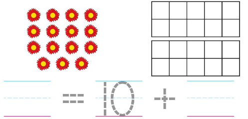 Big Ideas Math Answer Key Grade K Chapter 8 Represent Numbers 11 to 19 8.7 2