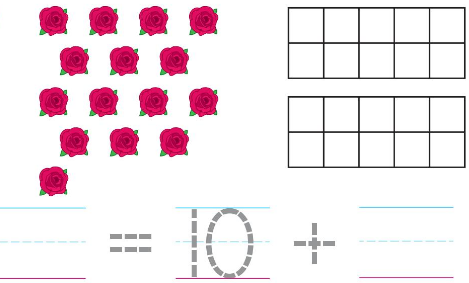 Big Ideas Math Answer Key Grade K Chapter 8 Represent Numbers 11 to 19 8.7 3