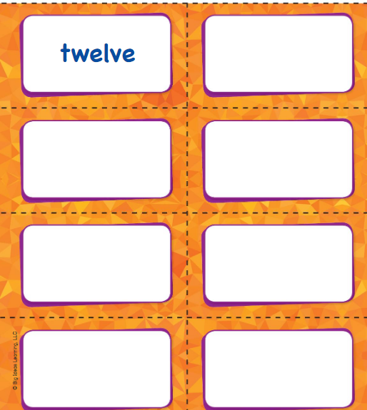Big Ideas Math Answer Key Grade K Chapter 8 Represent Numbers 11 to 19 v 4