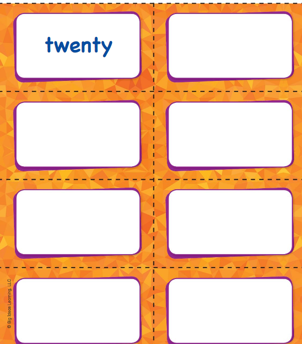 Big Ideas Math Answer Key Grade K Chapter 9 Count and Compare Numbers to 20 v 2