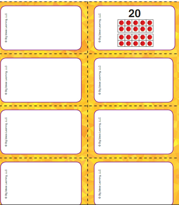 Big Ideas Math Answer Key Grade K Chapter 9 Count and Compare Numbers to 20 v 3