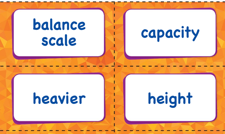Big Ideas Math Answer Key Grade K Chapter 13 Measure and Compare Objects v 2