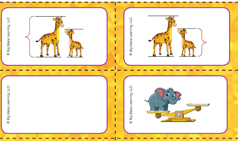 Big Ideas Math Answer Key Grade K Chapter 13 Measure and Compare Objects v 8