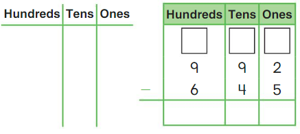 Big Ideas Math Answers 2nd Grade Chapter 10 Subtract Numbers within 1,000 chp 14
