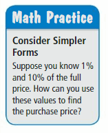 Big Ideas Math Answers 6th Grade Chapter 4 Percents 66