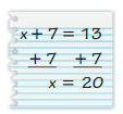 Big Ideas Math Answers 6th Grade Chapter 6 Equations 6.2 6
