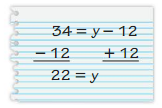 Big Ideas Math Answers 6th Grade Chapter 6 Equations 6.2 7