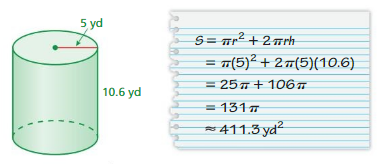 Big Ideas Math Answers 7th Grade Chapter 10 Surface Area and Volume 10.2 23