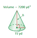Big Ideas Math Answers 8th Grade Chapter 10 Volume and Similar Solids 10.2 4