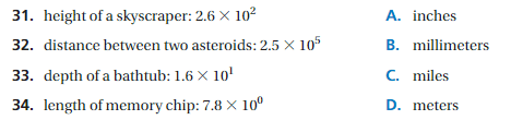 Big Ideas Math Answers 8th Grade Chapter 8 Exponents and Scientific Notation 8.6 7