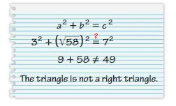 Big Ideas Math Answers 8th Grade Chapter 9 Real Numbers and the Pythagorean Theorem 9.6 13
