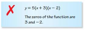 Big Ideas Math Answers Algebra 1 Chapter 8 Graphing Quadratic Functions 8.5 6