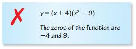 Big Ideas Math Answers Algebra 1 Chapter 8 Graphing Quadratic Functions 8.5 7