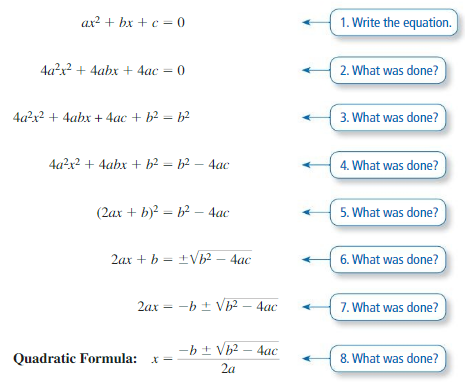 Big Ideas Math Answers Algebra 1 Chapter 9 Solving Quadratic Equations 9.5 1