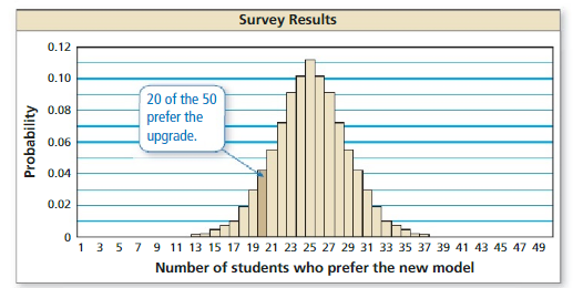 Big Ideas Math Algebra 2 Answer Key Chapter 11 Data Analysis and Statistics 11.5 3
