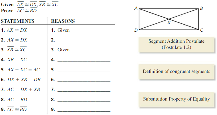 Big Ideas Math Answers Geometry Chapter 2 Reasoning and Proofs 152