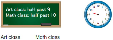 Big Ideas Math Answers Grade 1 Chapter 12 Tell Time 60