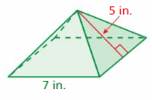 Big Ideas Math Answers Grade 6 Chapter 7 Area, Surface Area, and Volume 225