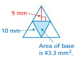Big Ideas Math Answers Grade 7 Chapter 10 Surface Area and Volume 10.3 14