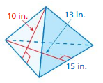 Big Ideas Math Answers Grade 7 Chapter 10 Surface Area and Volume 10.3 18