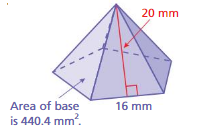 Big Ideas Math Answers Grade 7 Chapter 10 Surface Area and Volume 10.3 21