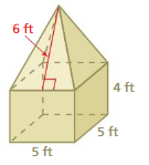 Big Ideas Math Answers Grade 7 Chapter 10 Surface Area and Volume 10.3 23
