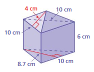 Big Ideas Math Answers Grade 7 Chapter 10 Surface Area and Volume 10.3 24