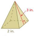 Big Ideas Math Answers Grade 7 Chapter 10 Surface Area and Volume cr 12