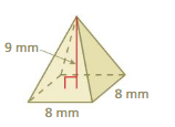 Big Ideas Math Answers Grade 7 Chapter 10 Surface Area and Volume cr 25