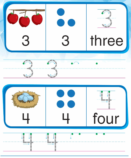 Big Ideas Math Answers Grade K Chapter 1 Count and Write Numbers Numbers 0 to 5 55