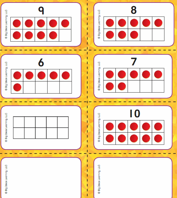 Big Ideas Math Answers Grade K Chapter 3 Count and Write Numbers 6 to 10 4