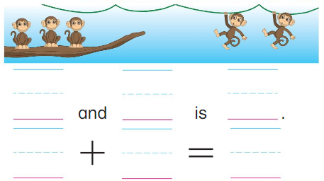 Big Ideas Math Answers Grade K Chapter 6 Add Numbers within 10 6.2 7