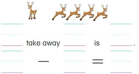 Big Ideas Math Answers Grade K Chapter 7 Subtract Numbers within 10 7.2 3