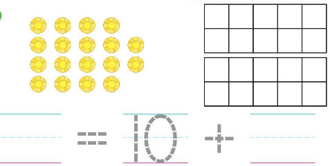 Big Ideas Math Answers Grade K Chapter 8 Represent Numbers 11 to 19 8.11 6