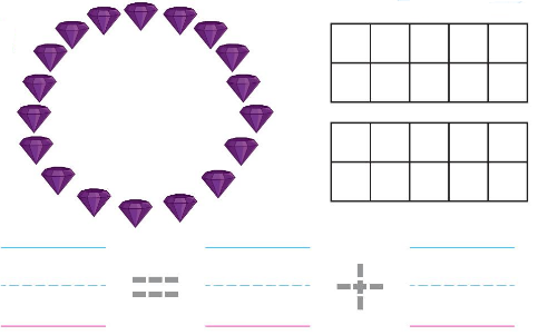 Big Ideas Math Answers Grade K Chapter 8 Represent Numbers 11 to 19 8.11 7