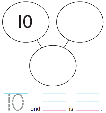 Big Ideas Math Answers Grade K Chapter 8 Represent Numbers 11 to 19 8.5 1
