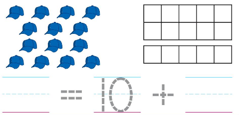 Big Ideas Math Answers Grade K Chapter 8 Represent Numbers 11 to 19 8.5 2