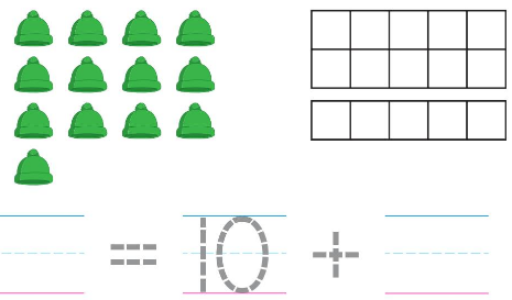 Big Ideas Math Answers Grade K Chapter 8 Represent Numbers 11 to 19 8.5 3