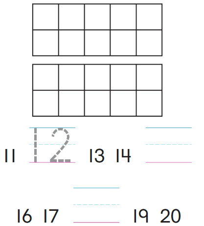 Big Ideas Math Answers Grade K Chapter 9 Count and Compare Numbers to 20 9.5 1
