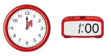 Big-Ideas-Math-Book-1st-Grade-Answer-Key-Chapter-12-Tell-Lesson-12.4-Tell-Time-Using-Analog-Digital-Clocks-DIG-DEEPER-Question-10