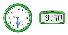 Big-Ideas-Math-Book-1st-Grade-Answer-Key-Chapter-12-Tell-Lesson-12.4-Tell-Time-Using-Analog-Digital-Clocks-DIG-DEEPER-Question-9